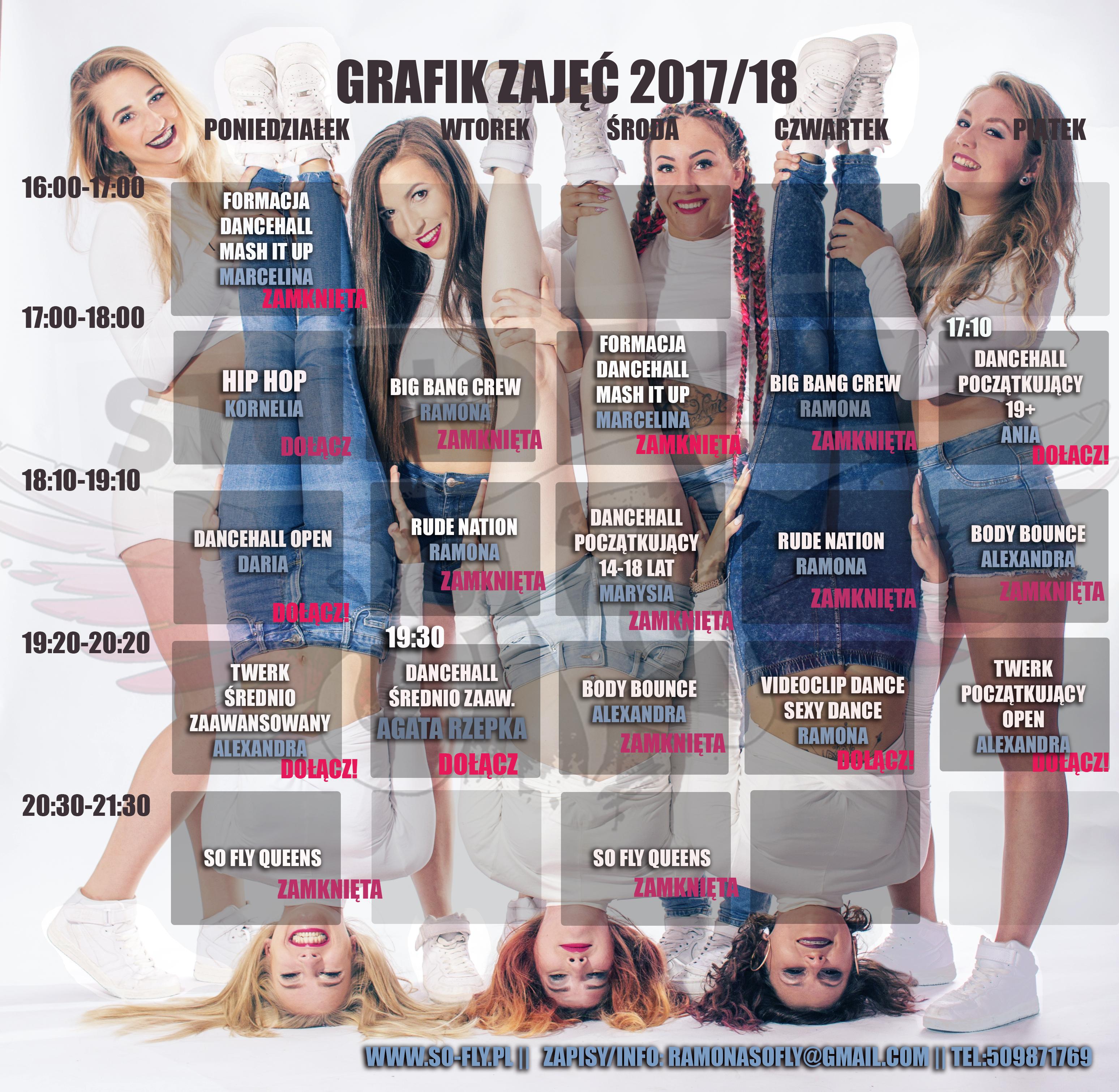 GRAFIK GRUDZIEŃ 2017
